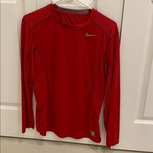 Nike pro combat dri fit long sleeve shirt